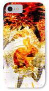 Red Rabbit IPhone Case by Robert Ball