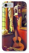 Rembrandt's Hurdy-gurdy IPhone Case by Patrick Anthony Pierson
