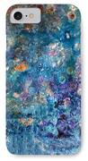 Rhapsody In Blue IPhone Case by Don  Wright