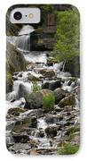 Roadside Mountain Stream IPhone Case by Mike McGlothlen