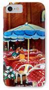 Rue Prince Arthur IPhone Case by Carole Spandau