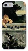 Sacred And Profane Love IPhone Case by Titian