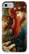 Saint Cecilia IPhone Case by John Melhuish Strukdwic