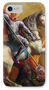 Saint George And The Dragon IPhone Case by Svitozar Nenyuk