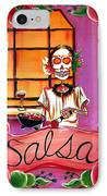 Salsa IPhone Case by Heather Calderon