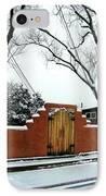 Santa Fe Residential Street Scene IPhone Case by Diana Dearen