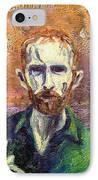 Self Portrait IPhone Case by John  Nolan
