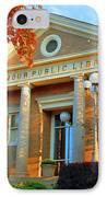 Seymour Public Library IPhone Case by Jost Houk