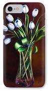 Simply Tulips IPhone Case by Shannon Grissom