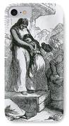Slave Auction IPhone Case by Photo Researchers