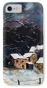 Snow 57 IPhone Case by Pol Ledent
