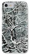 Snow Tree IPhone Case by Nadi Spencer