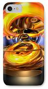 Solar Flare Abstract IPhone Case by Alexander Butler