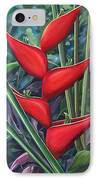 Something In Red IPhone Case by Hunter Jay