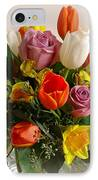 Spring Flowers IPhone Case by Sandy Keeton