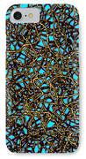 Squiggle 6 IPhone Case by Andy  Mercer