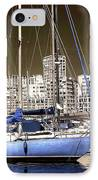 Standing Out In Marseille IPhone Case by John Rizzuto