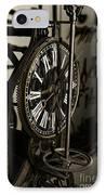 Steampunk - Timekeeper IPhone Case by Paul Ward