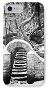 Steps Along The Wissahickon IPhone Case by Bill Cannon