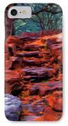 Stone Steps In Autumn IPhone Case by Jeff Kolker
