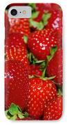 Strawberries IPhone Case by Carlos Caetano