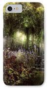 Summer - Landscape - Eve's Garden IPhone Case by Mike Savad