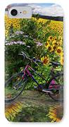 Summer Cycling IPhone Case by Debra and Dave Vanderlaan