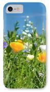Summer Flowers IPhone Case by Sophie De Roumanie