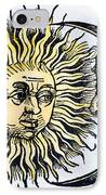 Sun And Moon, 1493 IPhone Case by Granger