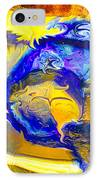 Sun Of A Moon IPhone Case by Omaste Witkowski