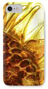 Sunburst Sunflower IPhone Case by Jerry McElroy