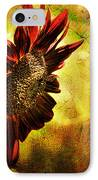 Sunflower IPhone Case by Lois Bryan