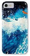 Surfer Girl IPhone Case by Hanne Lore Koehler