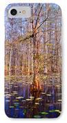 Swamp Tree IPhone Case by Susanne Van Hulst