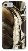 Tac Room Saddles IPhone Case by John Greim