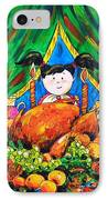 Thanksgiving Day IPhone Case by Zaira Dzhaubaeva