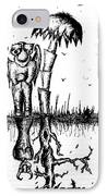 The Angel Is The Devil IPhone Case by Jera Sky