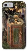 The Baleful Head IPhone Case by Sir Edward Burne-Jones