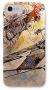 The Balloon Buster IPhone Case by Marc Stewart
