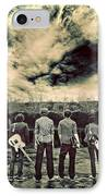 The Band Has Arrived IPhone Case by Meirion Matthias