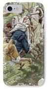 The Blind Leading The Blind IPhone Case by Tissot