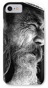 The Bushman IPhone Case by Avalon Fine Art Photography