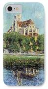 The Cathedral At Auxerre IPhone Case by Gustave Loiseau