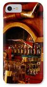 The Cowboy Club Bar In Sedona Arizona IPhone Case by David Patterson