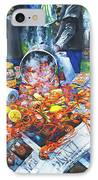 The Crawfish Boil IPhone Case by Dianne Parks