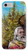 The Dauphin And Captain Nemo Discovering Bogomils Island IPhone Case by Otto Rapp