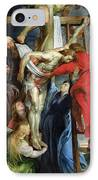The Descent From The Cross IPhone Case by Rubens