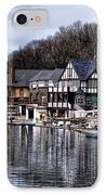 The Docks At Boathouse Row - Philadelphia IPhone Case by Bill Cannon