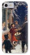 The Entertainer  IPhone Case by Percy Tarrant