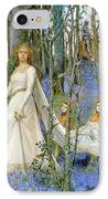 The Fairy Wood IPhone Case by Henry Meynell Rheam